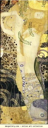 Gustav Klimt. Watersnakes - Olga's Gallery