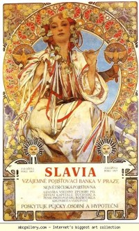 Alphonse Mucha. Slavia - Olga's Gallery
