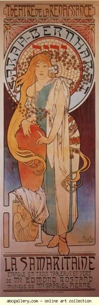 Alphonse Mucha. La Samaritaine - Olga's Gallery