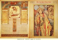 Alphonse Mucha. The New York Daily News - Olga's Gallery