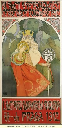 Alphonse Mucha. 6th Sokol Festival - Olga's Gallery