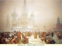 Alphonse Mucha. The Abolition of Serfdom in Russia - Olga's Gallery