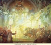 Alphonse Mucha. Holy Mount Athos - Olga's Gallery