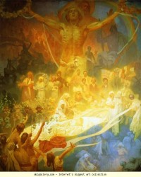 Alphonse Mucha. The Apotheosis of the Slavs - Olga's Gallery