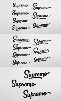 Supremo - Rob Clarke Typography