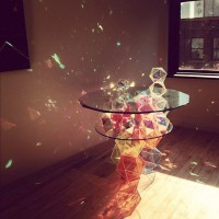 Sparkle Geometric Table by John Foster | Inspiration DE