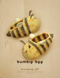Bumble Bee Bébé Crochet PATTERN chaussons SCHÉMA par meinuxing