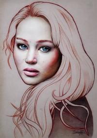 Jennifer Lawrence by salomnsm