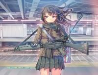 Armed High School Girl | Tokyo Otaku Mode ?