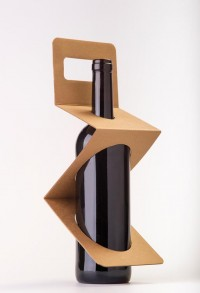 Büromarks - designbinge: Zigpack wine packaging by Xavier...