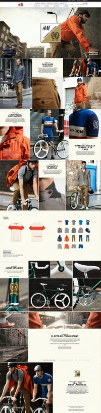 Web Graphic design. UI layout. Fashion E_Commerce | Inspiration DE