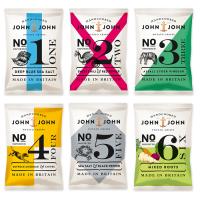 John & John PotatoCrisps - The Dieline: The World's #1 Package Design Website -