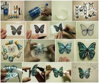 DIY Wonderful Butterflies Out of Plastic Bottles DIY Projects | UsefulDIY.com