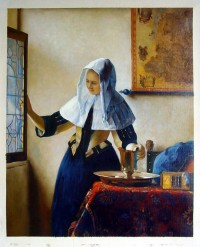 A-Reproduction-of-Woman-with-a-Water-Jug-Jan-Vermeer.jpg (811×1000)