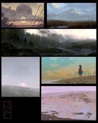 Speed paintings !! - Rakugaki ! ( JSM /// Sambour )