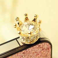 shego shopping mall — [Grlhx110053]Shiny Rhinestone Anti Dust Plug For Iphone 4/4s/5