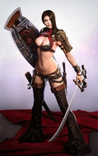 The Warrior Girl   CG Daily news
