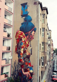 "Stunning Murals By ""Etam Cru"" Turn Boring Buildings Into Works Of Art 