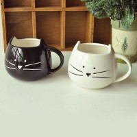 shego shopping mall — [grzxy6900002]Black White Cat Mug Cup for Tea Coffee Milk