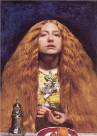 The Bridesmaid - John Everett Millais - WikiPaintings.org