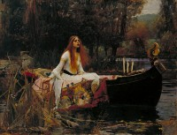 File:John William Waterhouse - The Lady of Shalott - Google Art Project.jpg - Wikimedia Commons