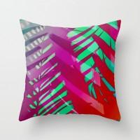 Hot Tropicana Throw Pillow by Ally Coxon | Society6