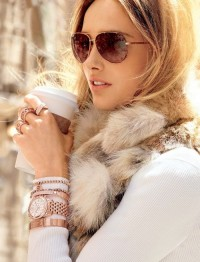 Michael kors aviators & rose gold watch | Inspiration DE