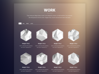 Float template - work section by Rodrigo Borges