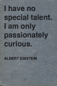 I have no special talent. I am only passionately curious. | Inspiration DE