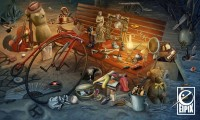 Hidden object scenes made for Eipix on