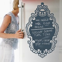 Rococo Chalkboard Decal from WallCandy Arts on OpenSky