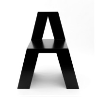HelveticA Chair | Shiro to Kuro — Designspiration