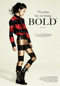 FREEDOM LIES IN BEING BOLD   Fiercer Than You