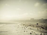Santa Monica Beach - Stock Photo - FreebiesXpress