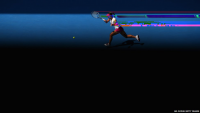 Glitch News, Li Na, of China, plays a forehand in her...