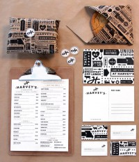 Harvey's - The Dieline -