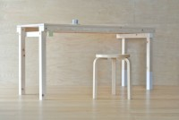 For Rest Table simple flat-pack wooden table by SPEAC - Dezeen