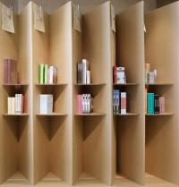 Foldaway Bookshop by Campaign - Dezeen