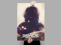 Space Poster by Derek Brown