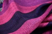 Foulard soie rose fushia