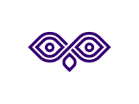 Owl Logo Design by Dalius Stuoka