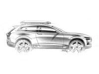 Volvo Concept XC Coupe - Design Sketch - Car Body Design