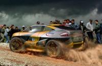 Rally Car Concept on