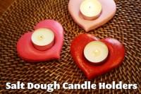 DIY on a Dime: Salt Dough Candle Holders | Life As Mom