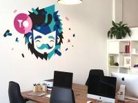 Studio wall by Patswerk