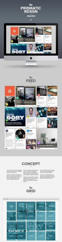 Prismatic NewsFeed Concept Redesign | Inspiration DE