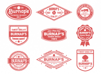 Burnap's badges by Nick Slater