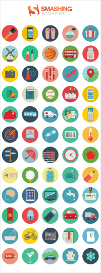 Freebie: Roundicons Icon Set (60 Icons, PNG, SVG, EPS, AI) | Smashing Magazine