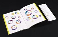 IBM Annual Report by Isabel Seiffert, via Behance | Book + Corporate