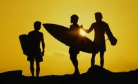 surfers on the beach - Google Search